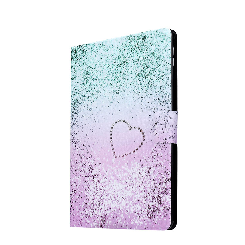 Flip Stand PU Leather Painted Case For Samsung Galaxy Tab A 8.0 Inch T350 T355 Case With Card Slots Tablet Cover