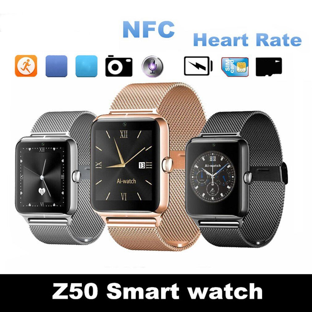 Z50 Bluetooth Smart Watch Sleep Monitor Call SMS Sedentary Reminder Smartwatch Support SIM Card TF Pedometer for IOS Android christina fitzgerald лак для ногтей воздушный зефир bond posy 12 9 мл