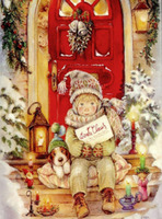 Hot Sale Free Shipping Cartoon Christmas Gift DIY Mosaics Full Diamond Embroidery Painting Home Decor Resin