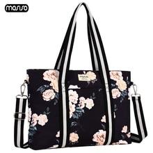 MOSISO Women Laptop Bag 13.3 14 15 15.6 17.3 inch Notebook Bags for MacBook Pro 15 Canvas Large Totes Bag Computer Shoulder Bag все цены