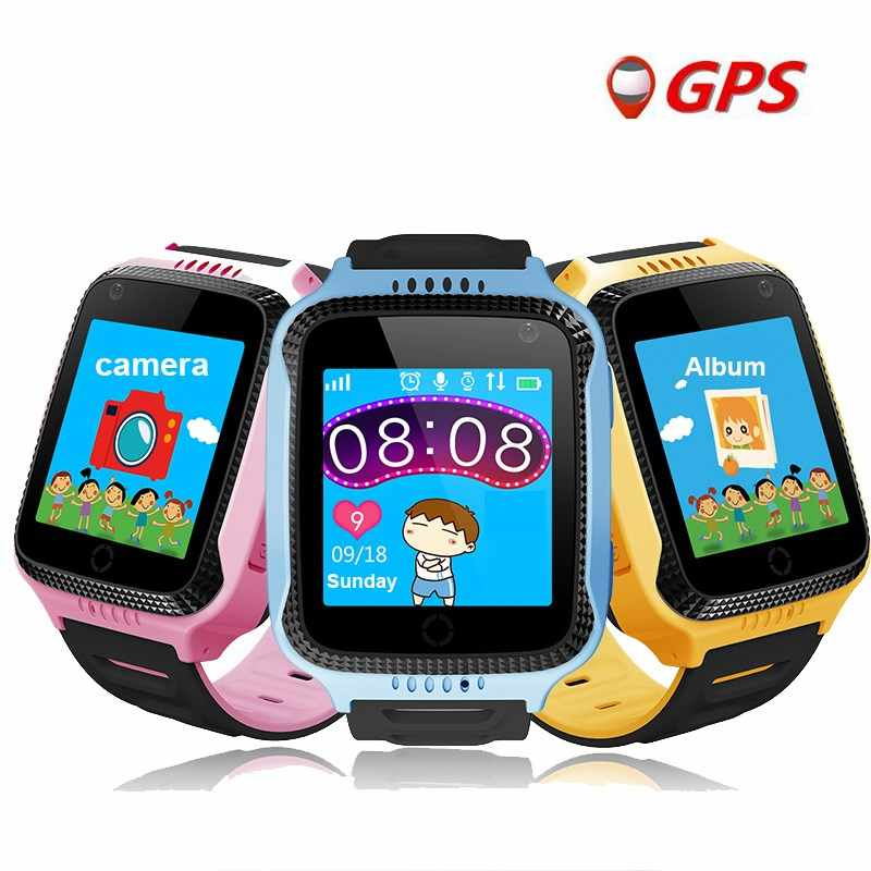 Kids watch GPS tracker watch Q528 Y21 GPS Smart Watch Flashlight Camera Baby Watches touch Screen SOS Call Location DHL D