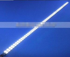 Image 5 - Neue!! 10pcs Universal Led hintergrundbeleuchtung Lampen Update kit Für LCD Monitor 2 LED Streifen Unterstützung zu 24 540mm Freies verschiffen