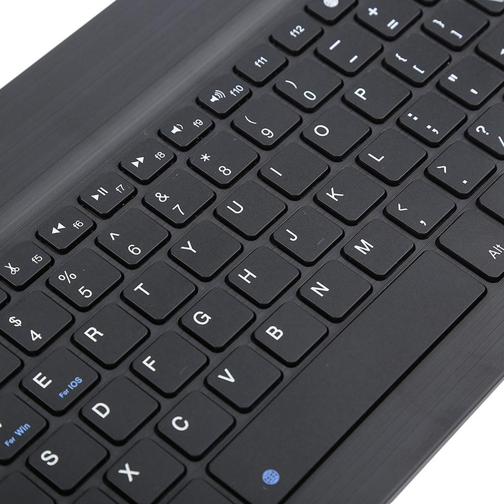 Image 5 - Portable Wireless Bluetooth Keyboard For iPad iPhone Macbook Rechargeable Mini Keyboard For iPad Air Pro 2017 2018 Tablet Keypad-in Keyboards from Computer & Office