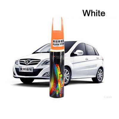 YIJINSHENG 1Pcs Car Paint Pen White Black Pearl White Car Paint Scratch  Repair From Paint Set Paint Face Repair