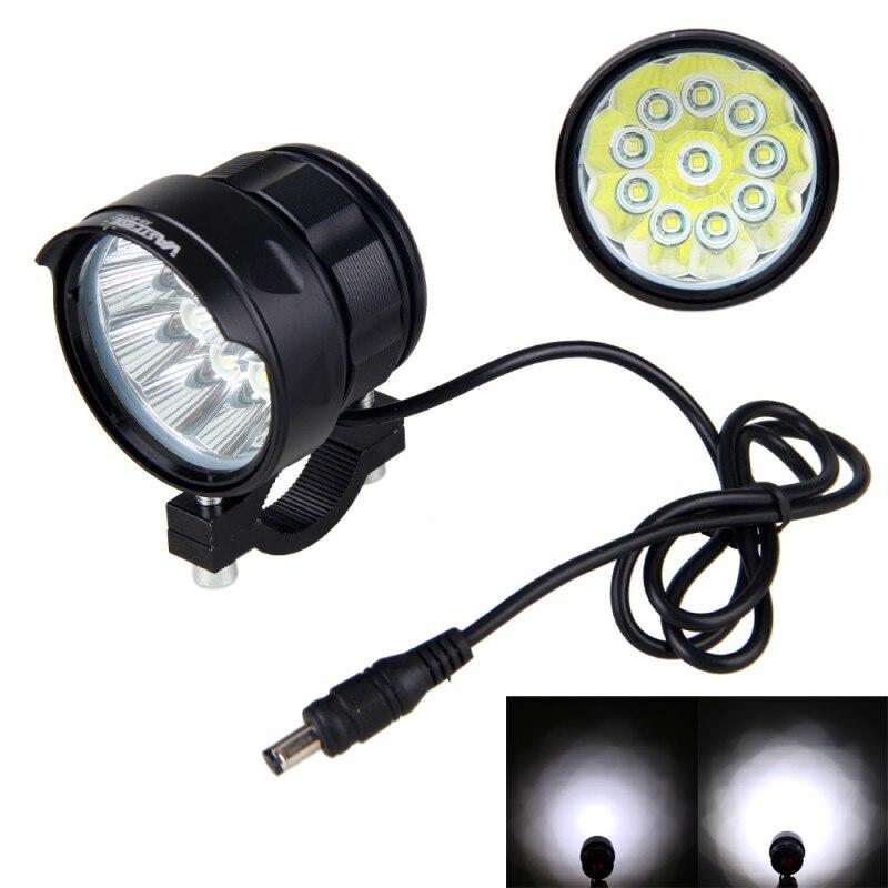 Waterproof 3 Modes Front Bike Headlight 20000 LM 10x XM-L T6 LED Light MTB Cyling Lamp+16000 mAh Battery +Safety Rear Lamp