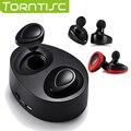 Torntisc TWS Recargable Binaural Auriculares In-Ear Auriculares Estéreo Inalámbricos Bluetooth 4.1 Apoyo 1 partido 2 con Larga vida