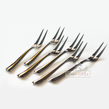 HOT event supplies for Fruit Fork Party Cake Dessert Salad Vegetable Sticks Cocktail Toothpick Skewer with wholesale price цена 2017