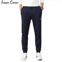 AFS JEEP Brand New Arrival Pants Men Solid Color Looser Comfortable 80 Cotton Mens Pants Causual