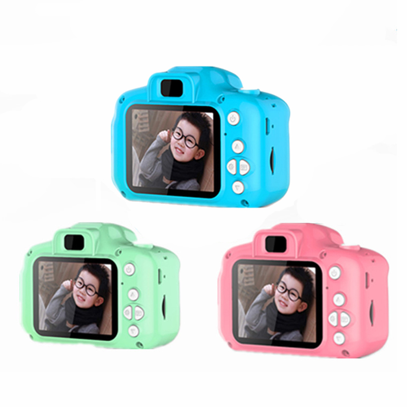 2019 Kids Camera Pictures Child Toy Birthday Gift Mini Digital Cameras Toys For Children Photography Props