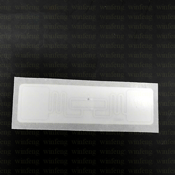 20pcs/lot Long Rang RFID UHF Label Tag Passive Destructive Windshield Tag for Car 1000pcs lot iso18000 6c long range passive pvc seal tag plastic uhf rfid cable tie tag with for warehouse management
