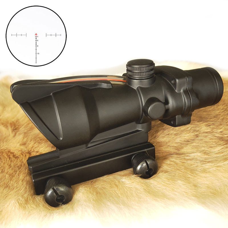 WESTHUNTER 4X32 Tactical Fiber Optics Scope Red Green Illuminated Glass Etched Fixed 4 Power Compact Riflescope Hunting SightsWESTHUNTER 4X32 Tactical Fiber Optics Scope Red Green Illuminated Glass Etched Fixed 4 Power Compact Riflescope Hunting Sights