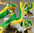 Новое поступление японский амин Cardcaptor Sakura Syaoran 23 см пвх фигурку игрушки подарок модель