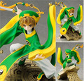 New Arrival Japanese Amine Cardcaptor Sakura Li Syaoran 23cm PVC Action Figure Toys Gift Model
