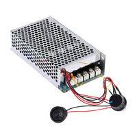 10 30V 100A 3000W Programable DC Motor Adjustable Speed Controller Regulator PWM Control Reversible electric motor vibrator