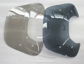 New Motorcycle Scooter Smoke Black Clear Windshield Wind Deflector For Vespa Sprint150 Flyscreen