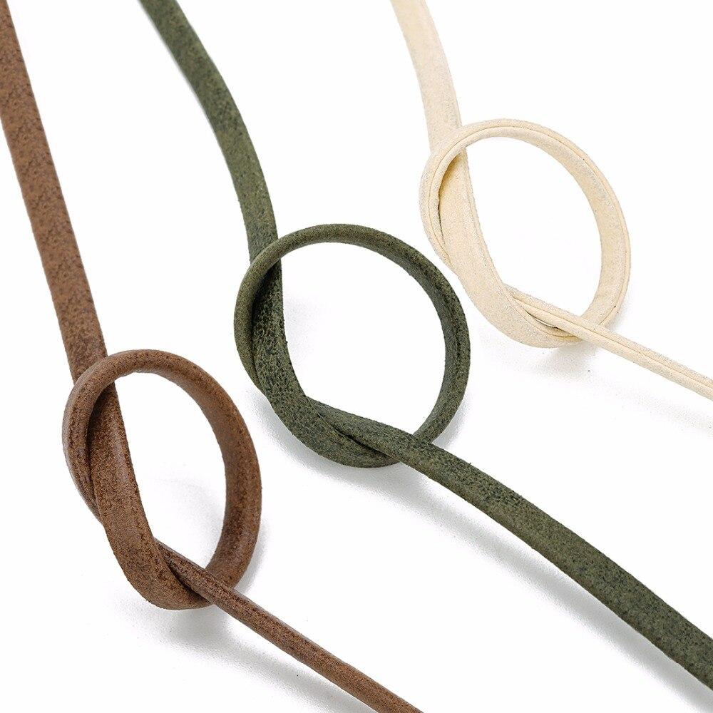 5 мм ярдов/рулон шнур из искусственной кожи