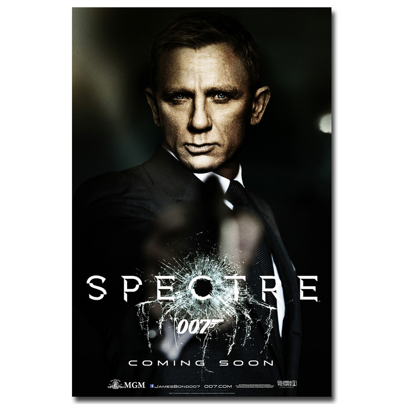 Us 467 22 Offgzcjhp James Bond 24 007 Spectre 2015 Movie Art Silk Or Canvas Poster Print 13x20 24x36 Wall Pictures Click See To More In Painting