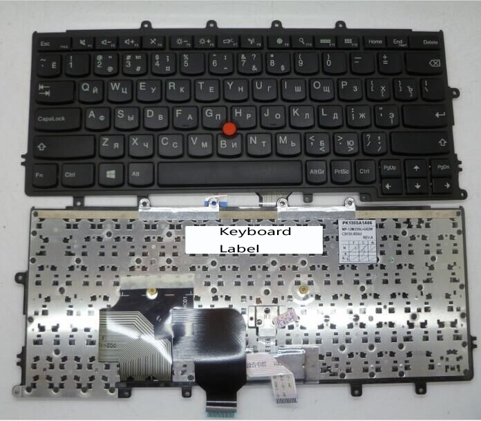 New notebook Laptop keyboard for IBM Thinkpad X240 X240S X240I X250 0C44043 04X0238 RU  Russian layout new laptop keyboard for ibm thinkpad x240 x240s x240i x250 0c44043 04x0238 ru russian layout