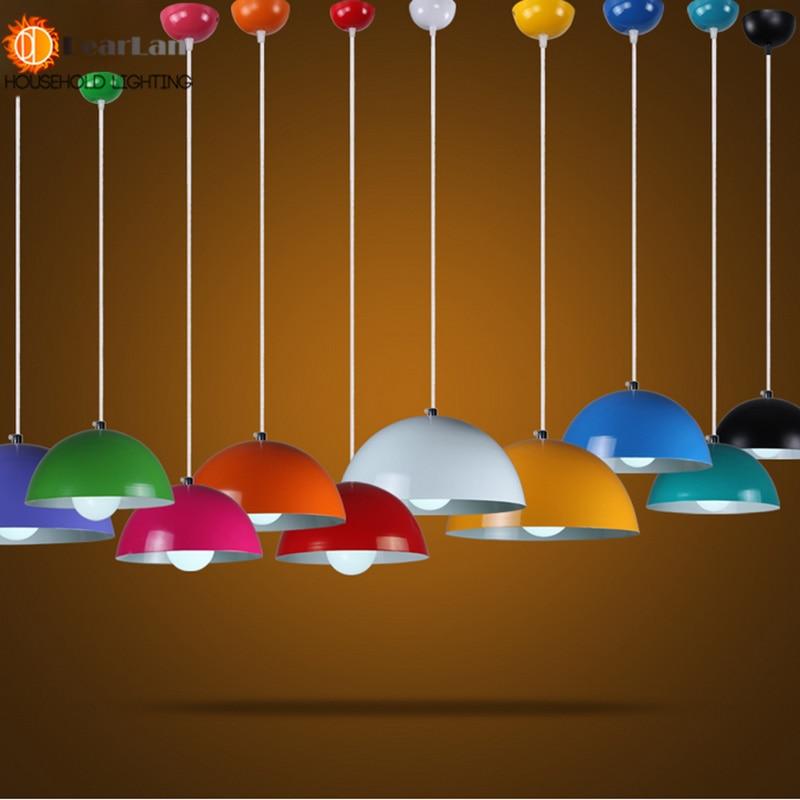 ФОТО Modern Nordic Lights High Quality Aluminum Paint Creative Pendant fixtures Cafe Bar Aluminum Pendant Lamp Free Shipping
