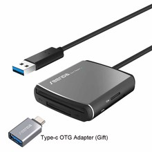Все в 1 USB 3.0 Card Reader flash multi Memory 4 слота Reader USB карты для Micro SD TF/ sd/cf для компьютера