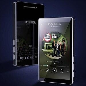 Image 1 - 2020 mais novo leitor de mp3 ruizu d20 3.0 Polegada tela sensível ao toque completo alto falante de alta fidelidade lossless leitor de música com fm, player de vídeo