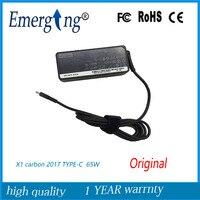 20V 3.25a 65W AC TYPE C USB C Adapter power supply For Lenovo ThinkPad X1 carbon 2017 E480 E580 S2 Yoga 2018