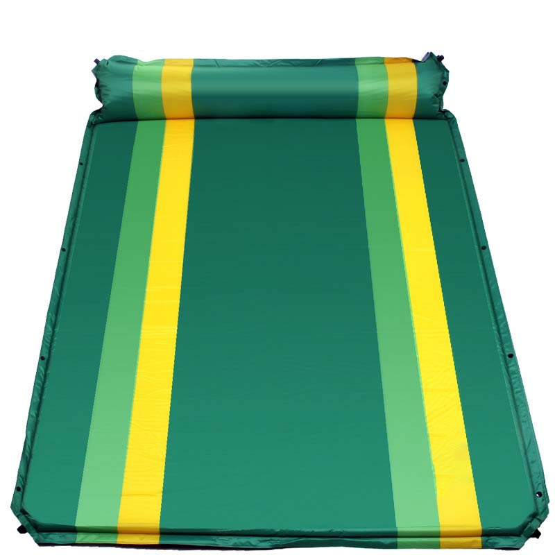 FLYTOP double Outdoor camping mat 1-2 person automatic inflatable mattress outdoor camping beach picnic Folding pad