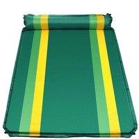 FLYTOP podwójna Odkryty camping mat 1-2 osoby automatyczne nadmuchiwane materac zewnątrz camping plaża piknik Składany pad