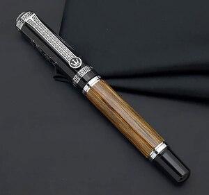 Image 5 - Duke 551 stylo Confucius moyen/courbé 0.7mm/1.2mm, en bambou naturel, stylo de calligraphie, pour cadeau de bureau