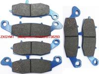 Motorcycle Resin Disc Brake Pads Set Fit KAWASAKI VN1700 VN 1700 Vulcan Nomad 2009 Up