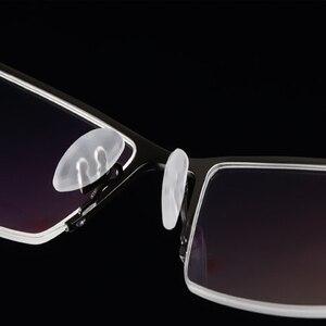 Image 3 - Gafas de aleación de titanio para hombre, anteojos masculinos para miopía, monturas para gafas