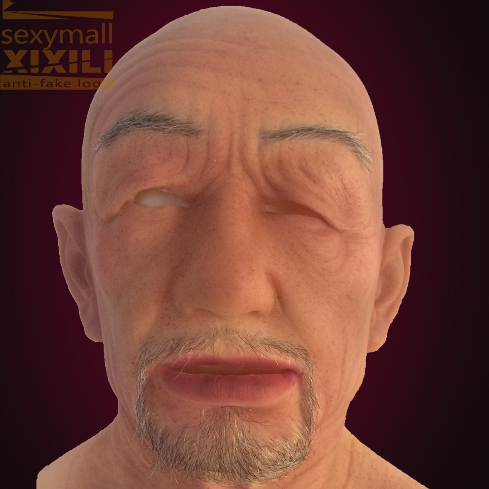 2016 New high quality face/off! Halloween Terror Mask Old Man ...