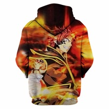 Fairy Tail 3D Print Hooded  Sweatshirts