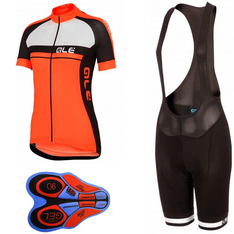 Cycling Sets Women Cycling Clothing Bike Clothing Breathable Quick Dry Bicycle Wear Short Sleeve Cycling Jerseys Sets Orange dichski cycling jerseys suit mountain bike quick dry breathable winter long sleeve men uv protect riding pants new clothing sets