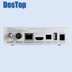 Image 4 - Gtmedia GTC 4K Android tv box DVB C Cable Youtube DVB S2 Bluetooth 4,0 приемник спутниковый приемник Tv тюнер Biss VU