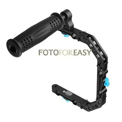 Prix pour Fotga DP3000 C - forme de soutien de Support de Cage + haut poignée Grip pour 15 mm tige DSLR Rig