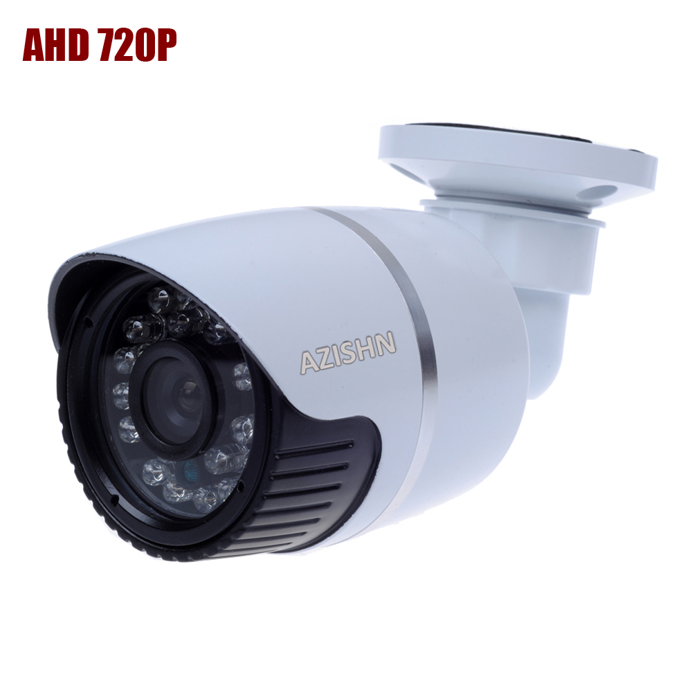 CCTV AHD camera 1/4 XM 1.0MP chip 2000TVL  720P 24PCS IR LEDS  IR Cut Bullet AHD  CCTV Security Surveillance Camera Waterproof
