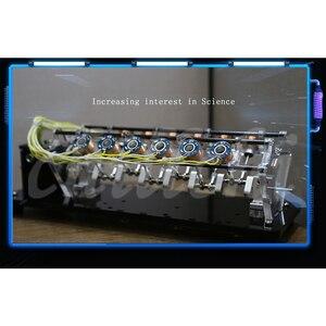 Image 3 - Un modelo de motor electroimán se puede usar para lanzar un motor de velocidad alta, un motor de automóvil, un motor Tipo V.
