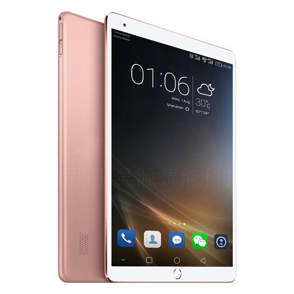 2019 Date DHL Livraison 10 pouces Tablet PC Octa Core 4 GB RAM 64 GB ROM Android 7.0 GPS 1920*1200 IPS 4G Tablet 10.1 + Cadeaux WCDMA GSM