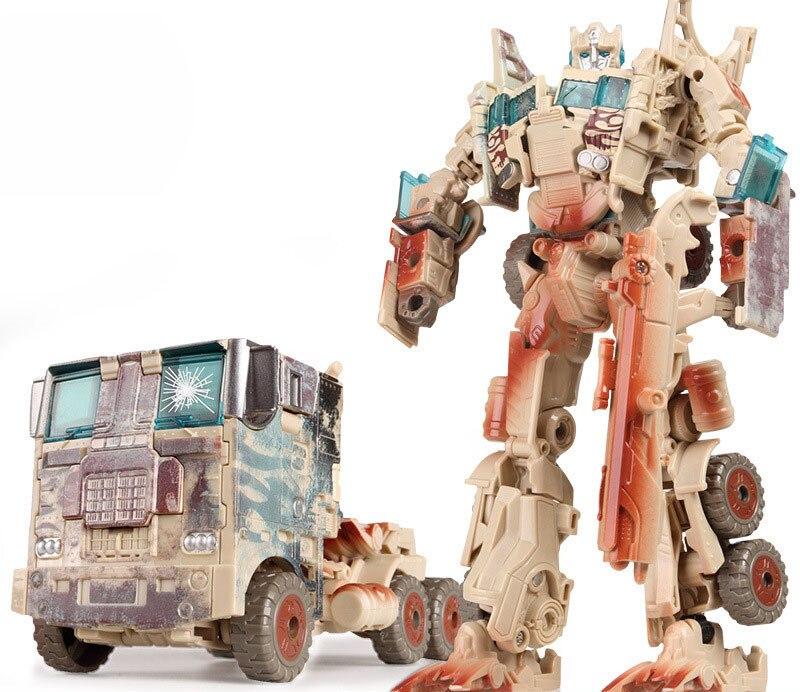 """Лидер продаж 19,5 см модель Трансформация Робот автомобиль экшн игрушки пластиковые игрушки Фигурки игрушки лучший подарок для образования детей 7,5"""" - Цвет: NO.13"""