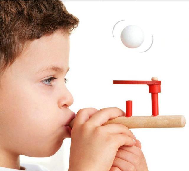 Materiales montessori de madera bebé toys schylling golpe aficiones diversión al aire libre deportes juguete pelota de espuma bola flotante