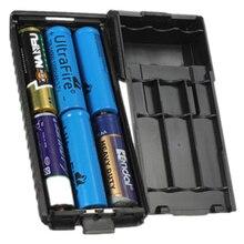 Ofertas superiores avançado 6xaa bateria caixa caso substituição para novo baofeng uv5r uv5rb uv5re uv5re +