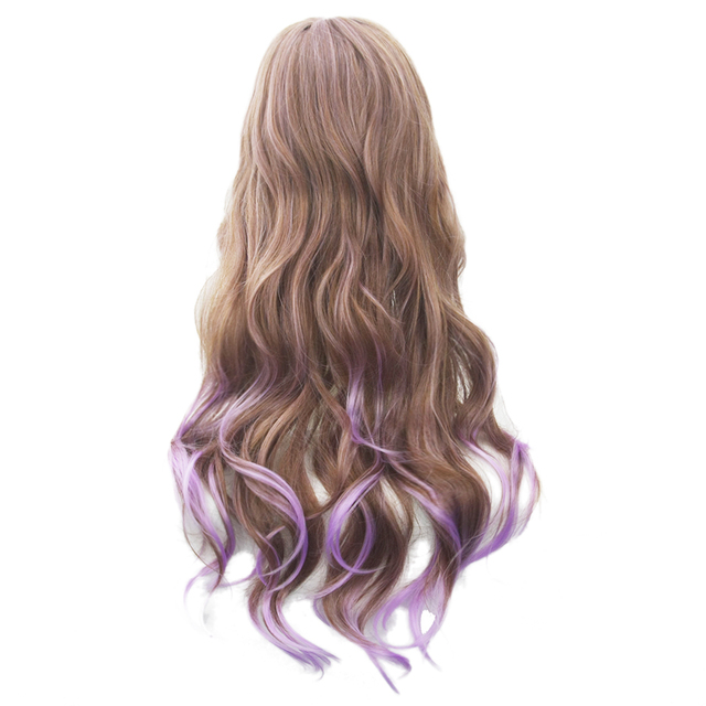 70cm Long Curly Synthetic Cosplay Wigs