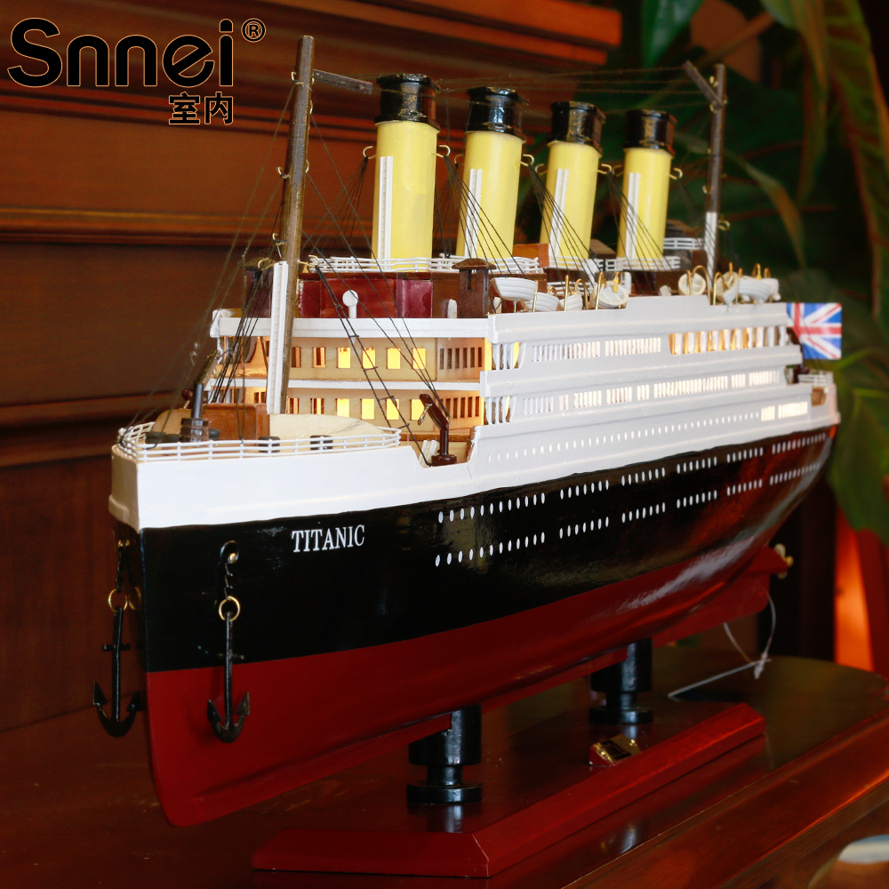 Online kopen wholesale wooden model titanic uit china wooden model ...