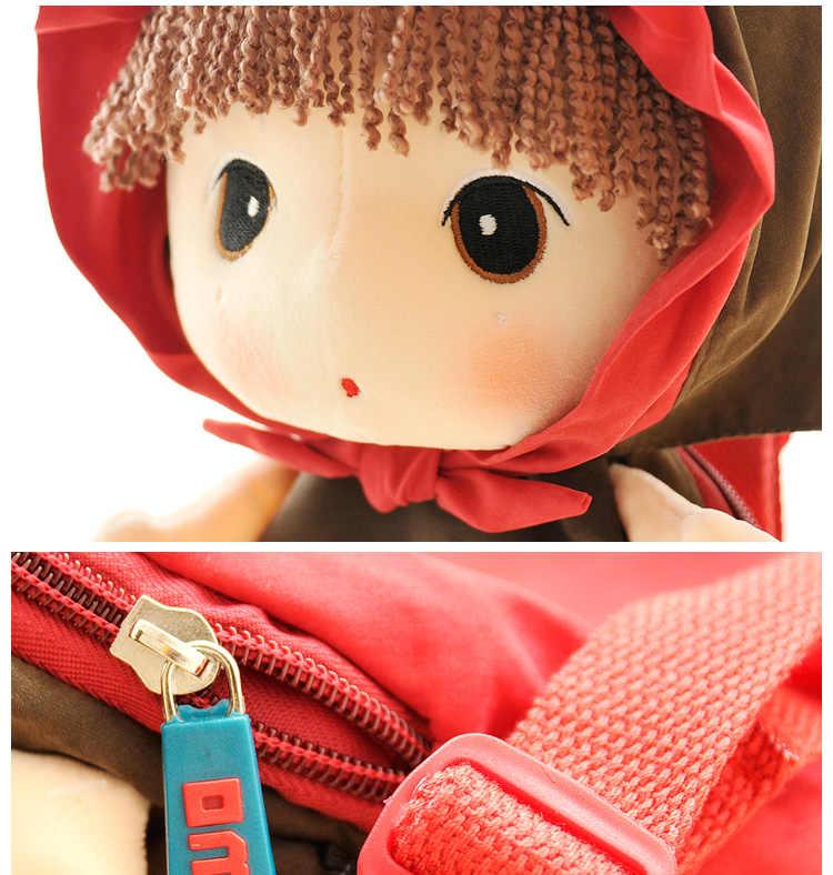 Плюшевый Детский рюкзак, сумки с героями мультфильмов, Детская кукла, Плюшевый Рюкзак-игрушка, Детская сумка на плечо для детского сада, Анжела, игрушки для девочек
