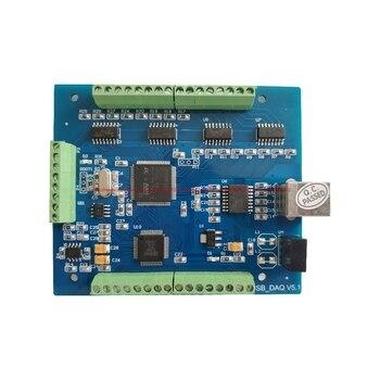 16-Bit 8-Channel K แบบซิงโครนัสแยก USB Multifunction Data Acquisition Card-Power การวัด Sensor