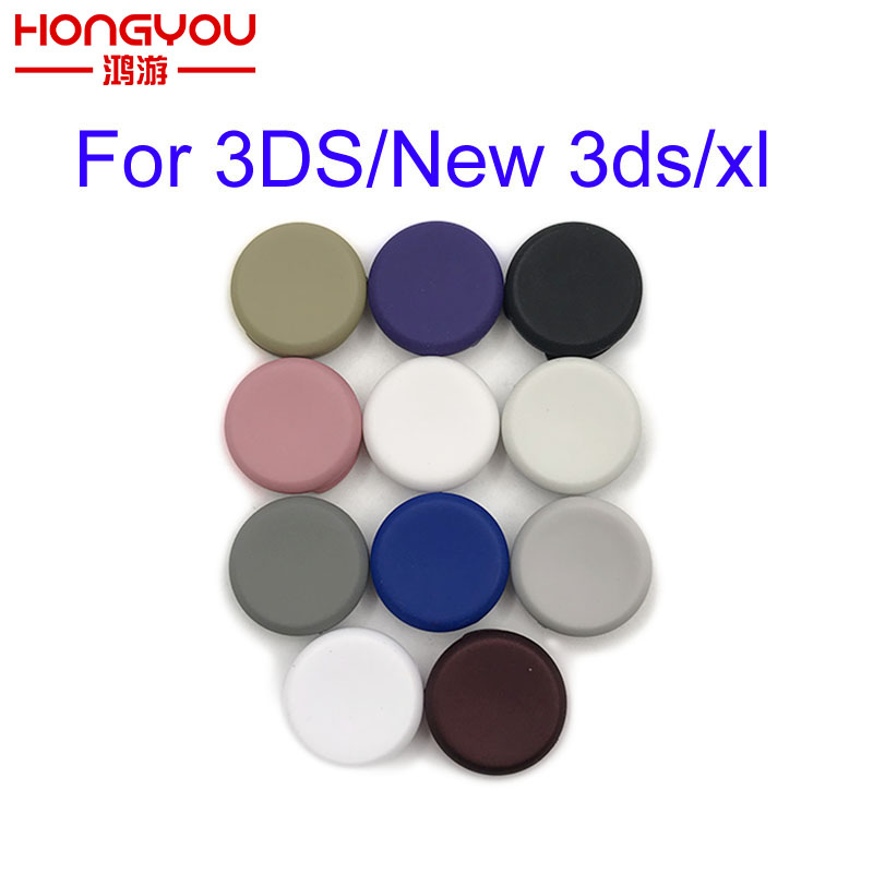 100Pcs Colorfull Analogue Joystick Cap Replacement for Nintendo for 3DS 3DS LL 3DS XL New 3DS LL XL Game Console Repair