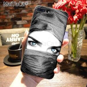 Image 4 - MaiYaCa funda de teléfono para iphone 8plus, protector musulmán islámico, Ojos de gril para iPhone 12 7 6 6S Plus X XS MAX XR 5S SE 11 pro max