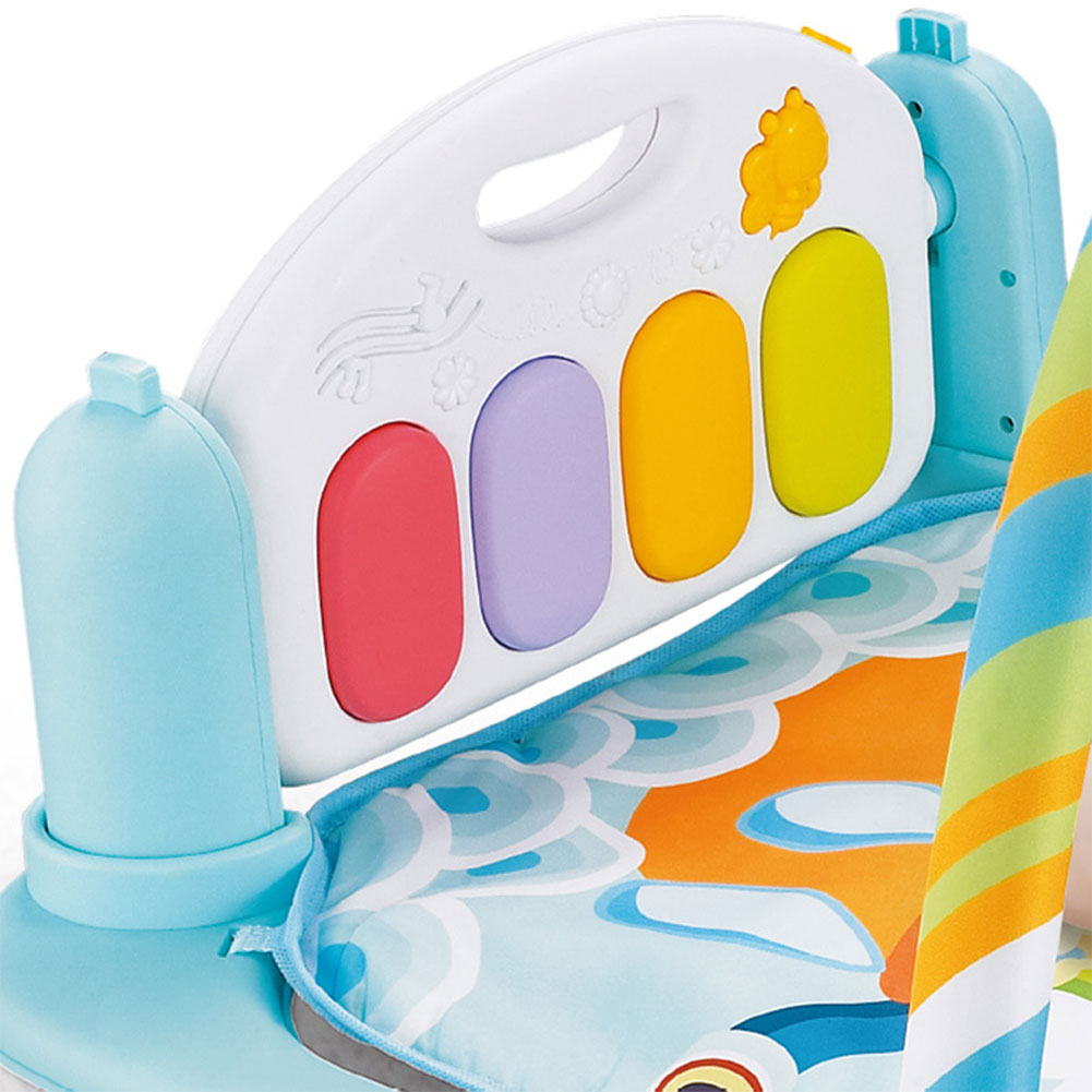 tapete gym kick play lay sentar brinquedo para bebês
