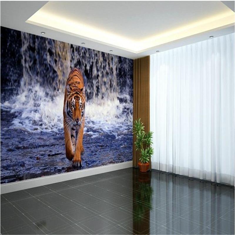 tiger murals-kaufen billigtiger murals partien aus china tiger ... - Moderne Wohnzimmer Wande